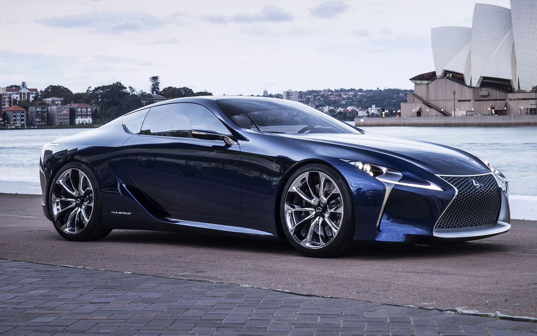 Lexus Lf Lc Concept Closer To Production