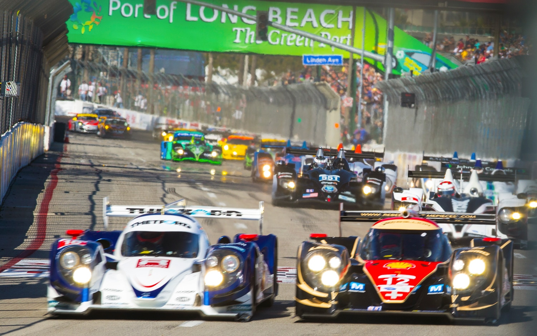 Long Beach Grand Prix ALMS Front Straight 21
