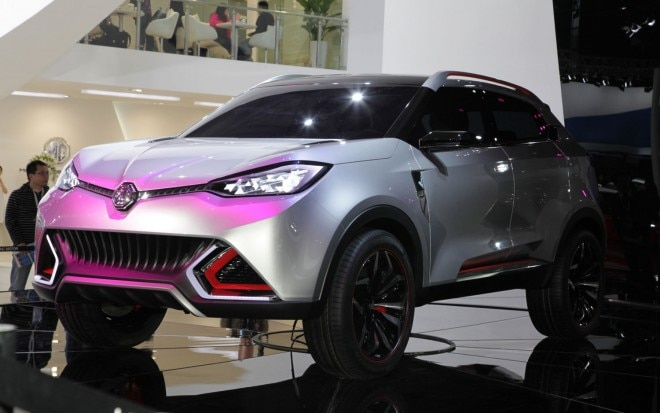 MG CS SUV Concept Left Front Angle1 660x413