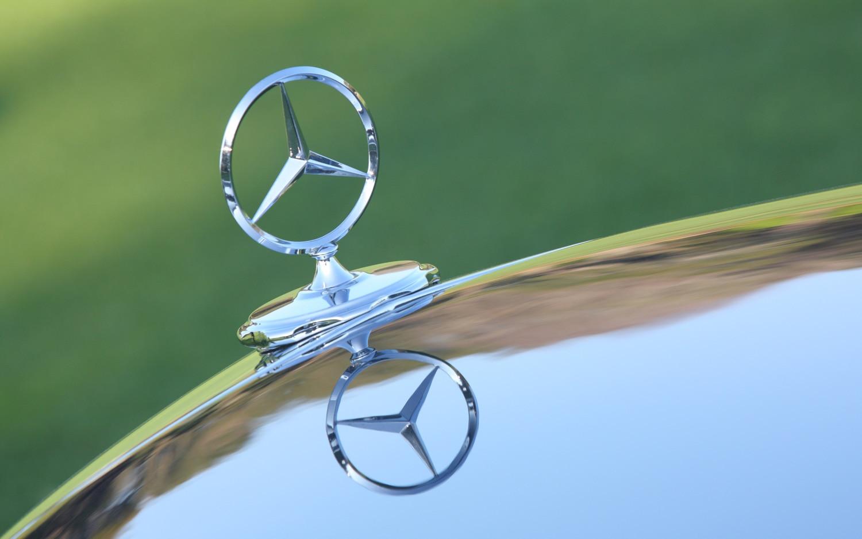 Mercedes Benz Hood Ornament