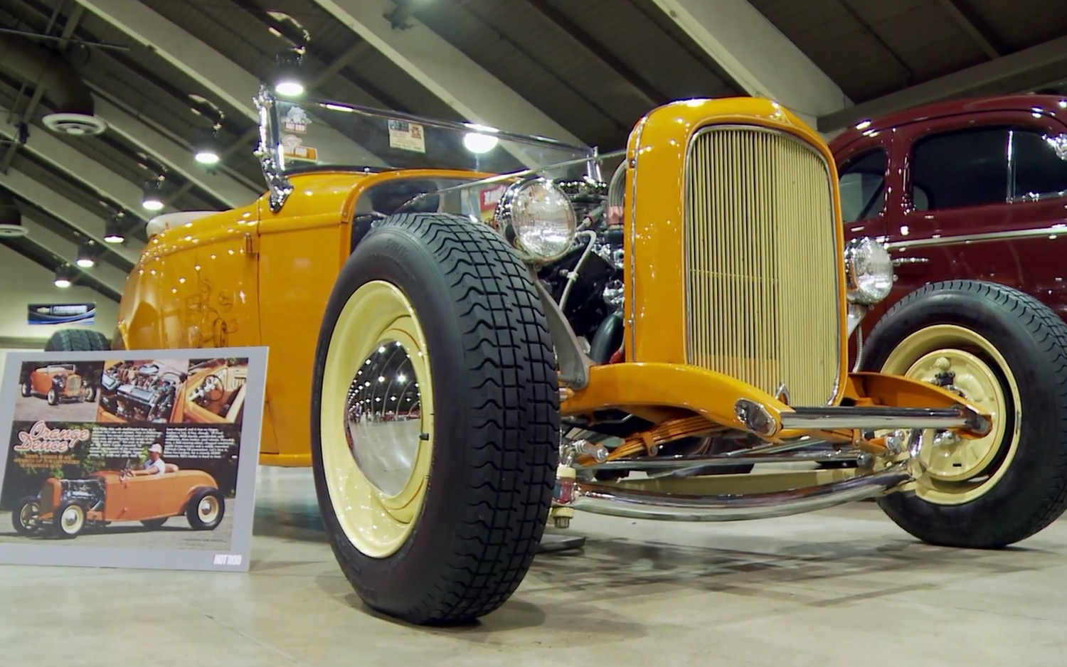 Orange Deuce Roadster Hot Rod Homecoming1