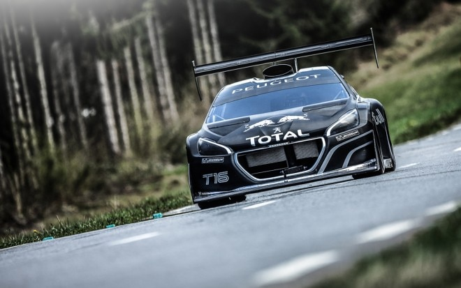 Peugeot 208 Pikes Peak Front View On Track 211 660x413