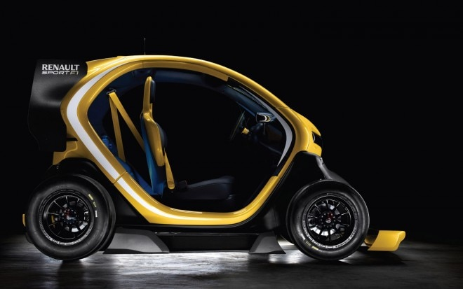Renault Twizy Sport F1 Concept Profile1 660x413