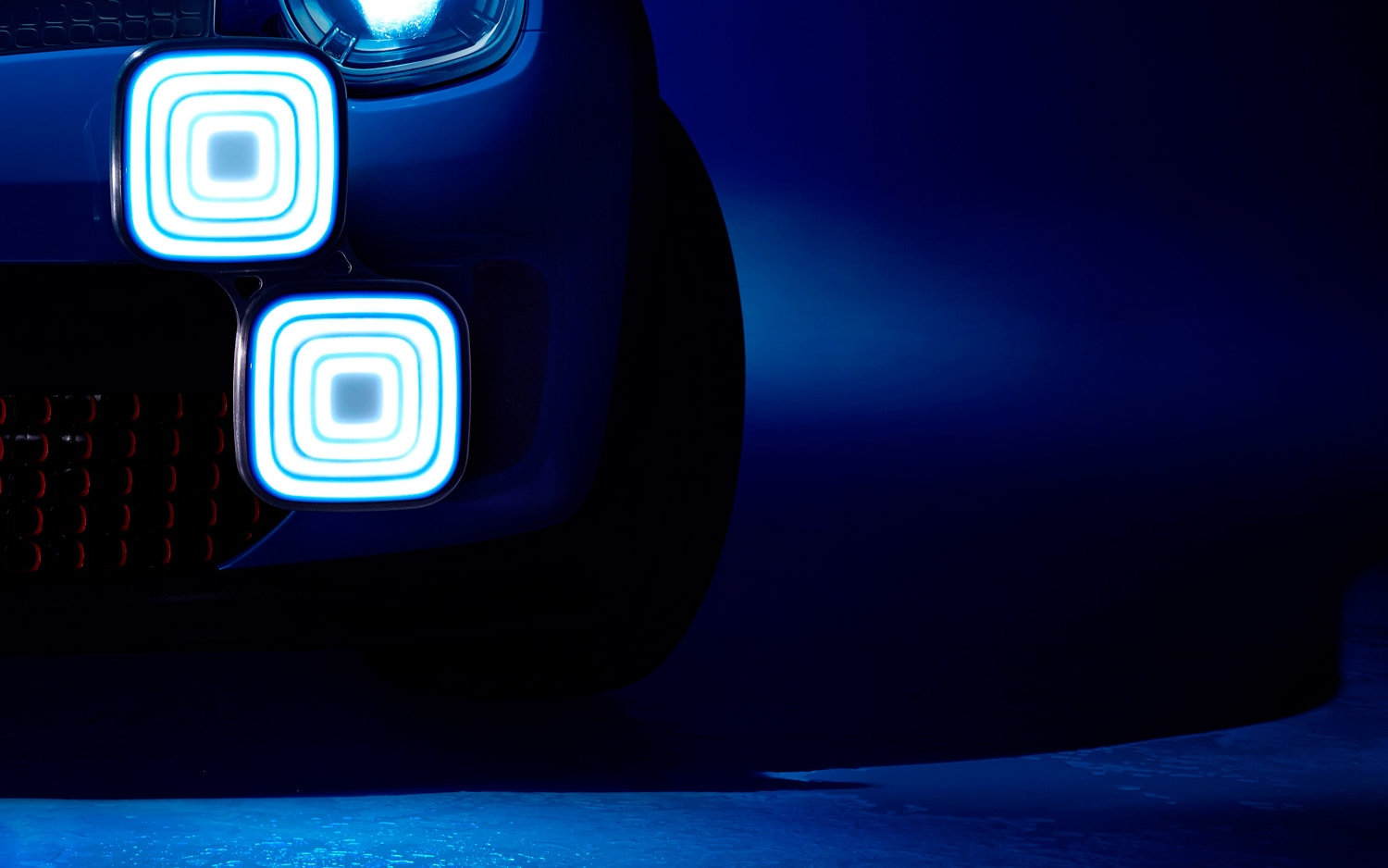 Renault Concept Car Teaser Headlamp Detail View1