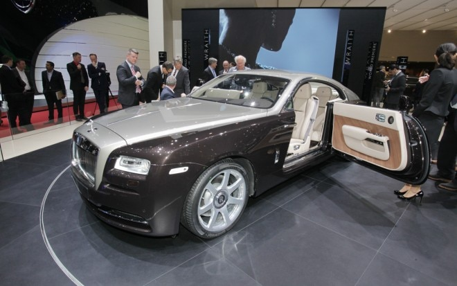 Rolls Royce Wraith Front Three Quarter1 660x413
