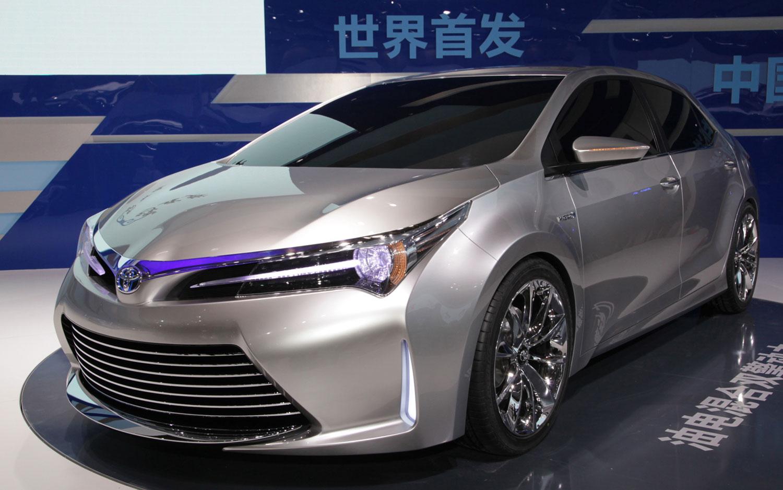 Toyota Yundong Shuangqing Concept Left Front11