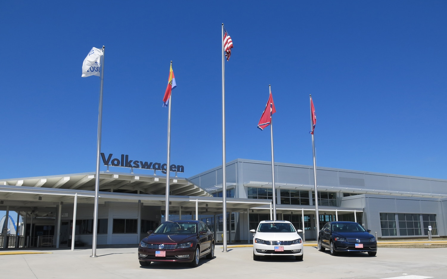 VW Chattanooga Main Entrance1