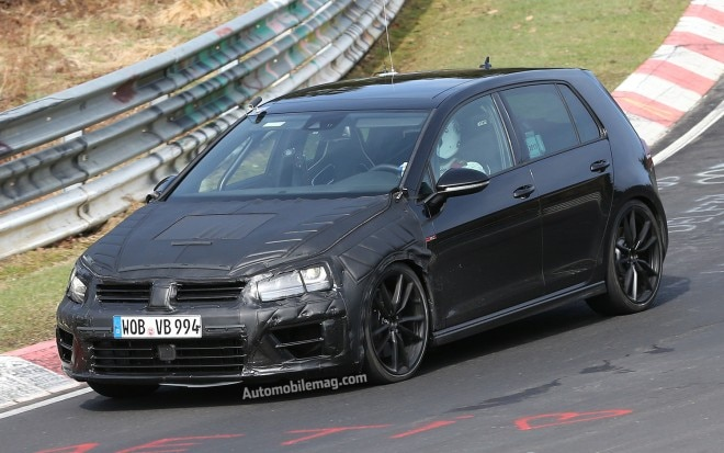 Volkswagen Golf R Prototype Front Three Quarters View1 660x413