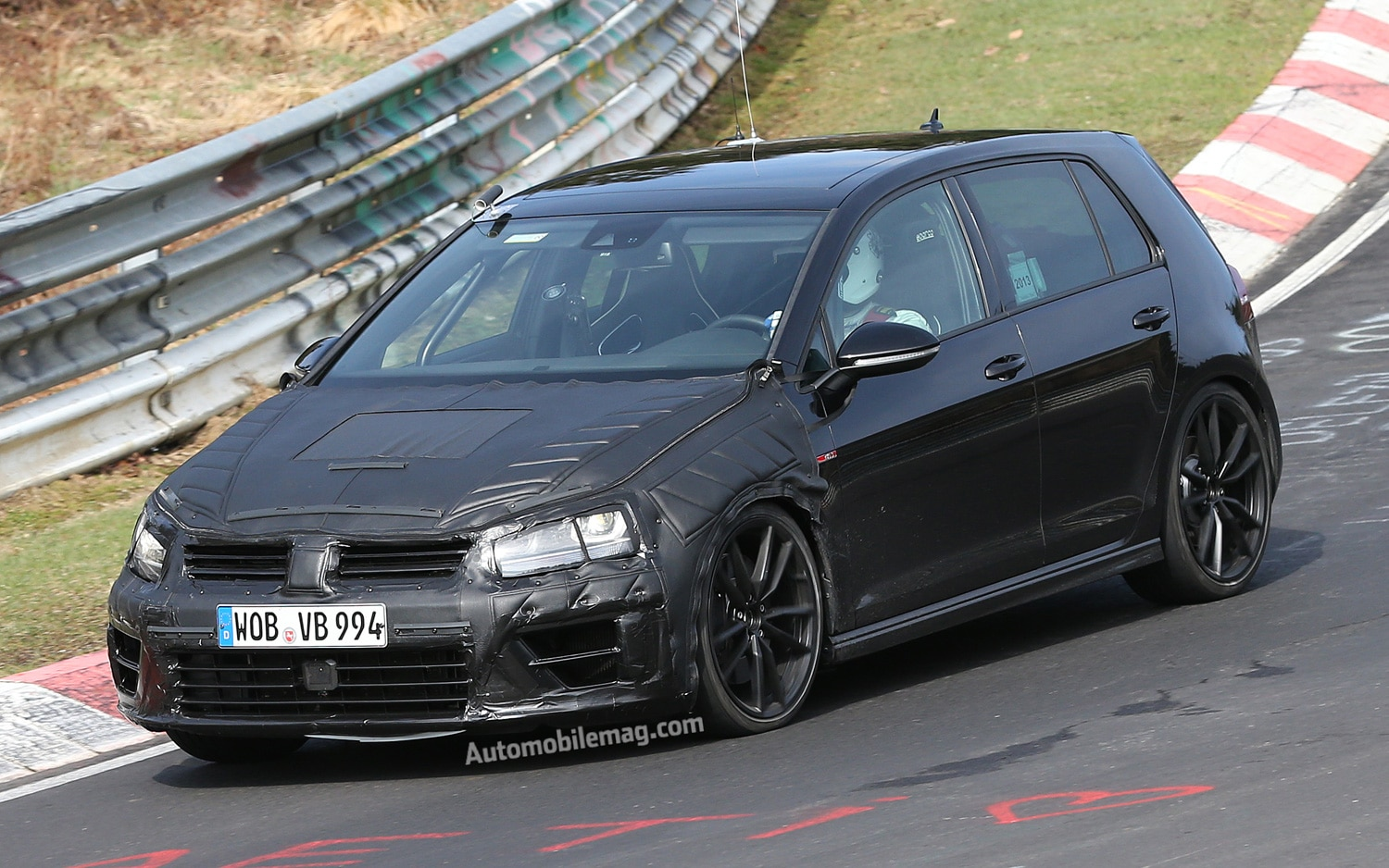 Volkswagen Golf R Prototype Front Three Quarters View1
