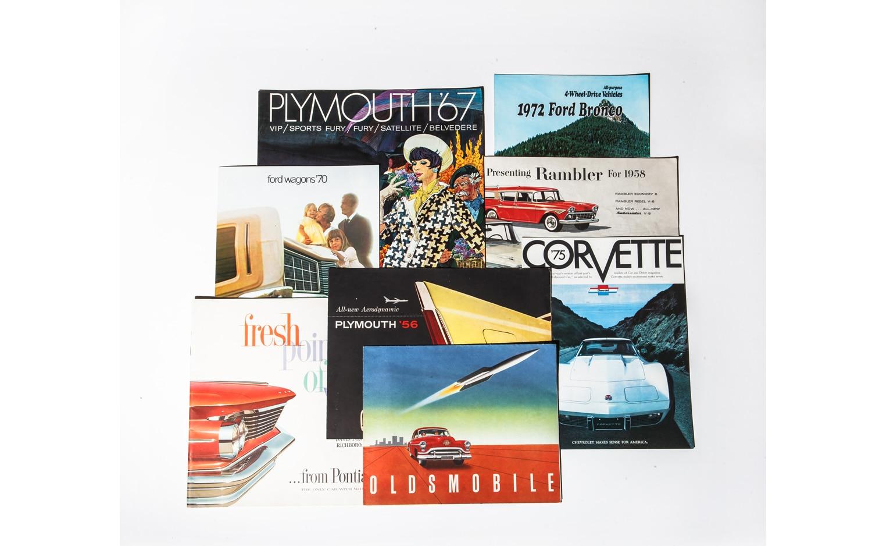 Automobile Brochures1