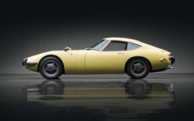 1967 Toyota 2000GT Left Side1 660x413