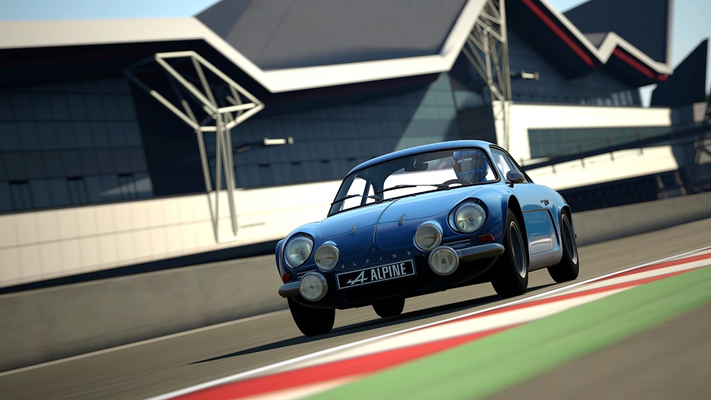 1968 Alpine A110 1600S GT6 Front Track1