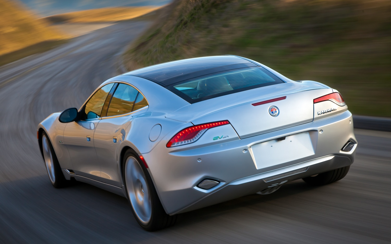 2012 Fisker Karma Rear Three Quarter1