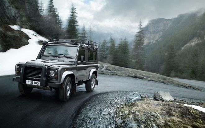 2012 Land Rover Defender 90 Front Three Quarter1 660x413