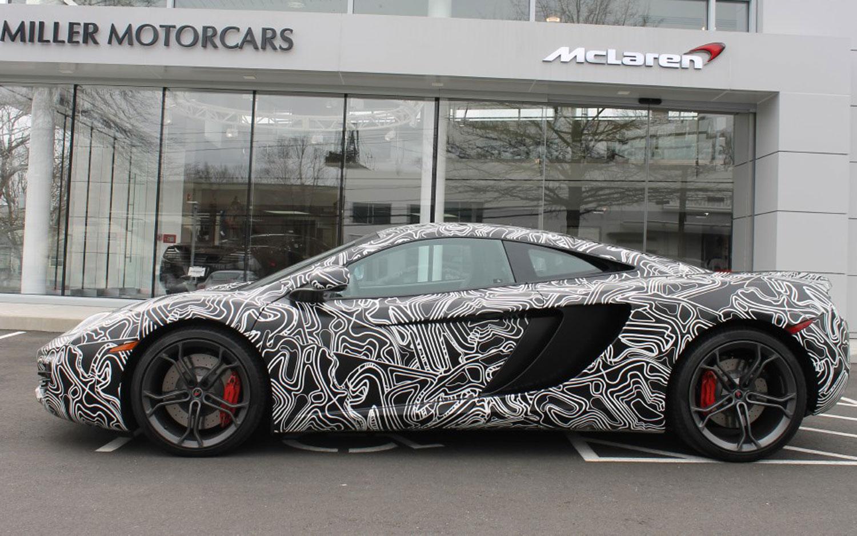 2012 McLaren MP4 12C Greenwich Edition Left Side1