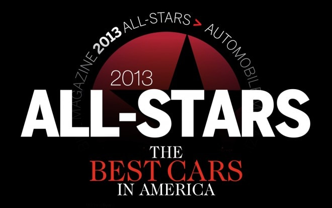 2013 All Stars Best Cars In America 660x413