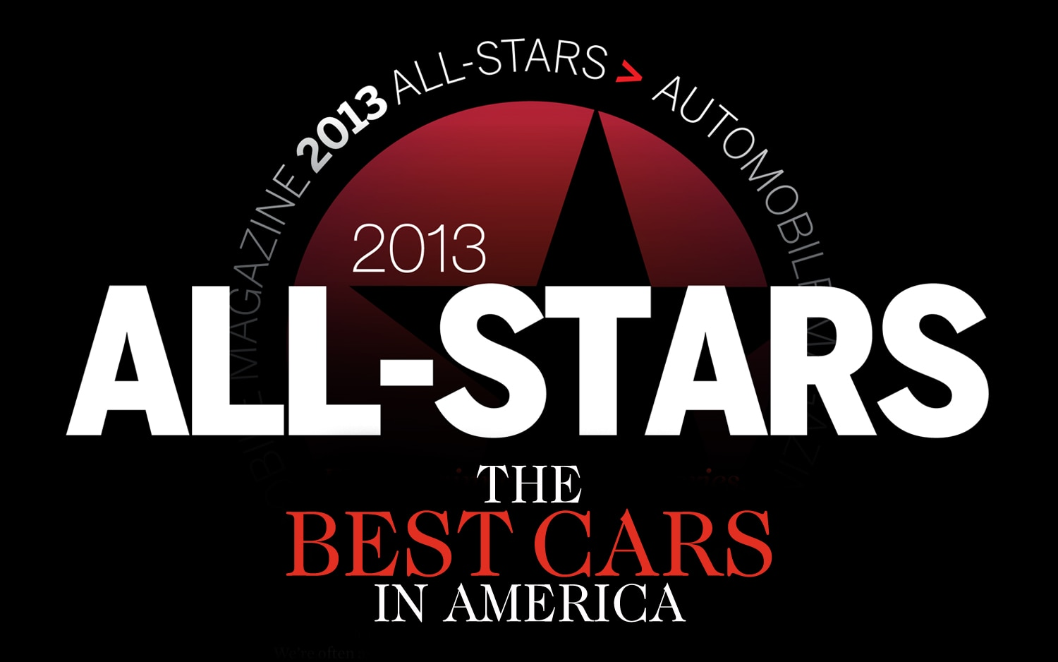 2013 All Stars Best Cars In America