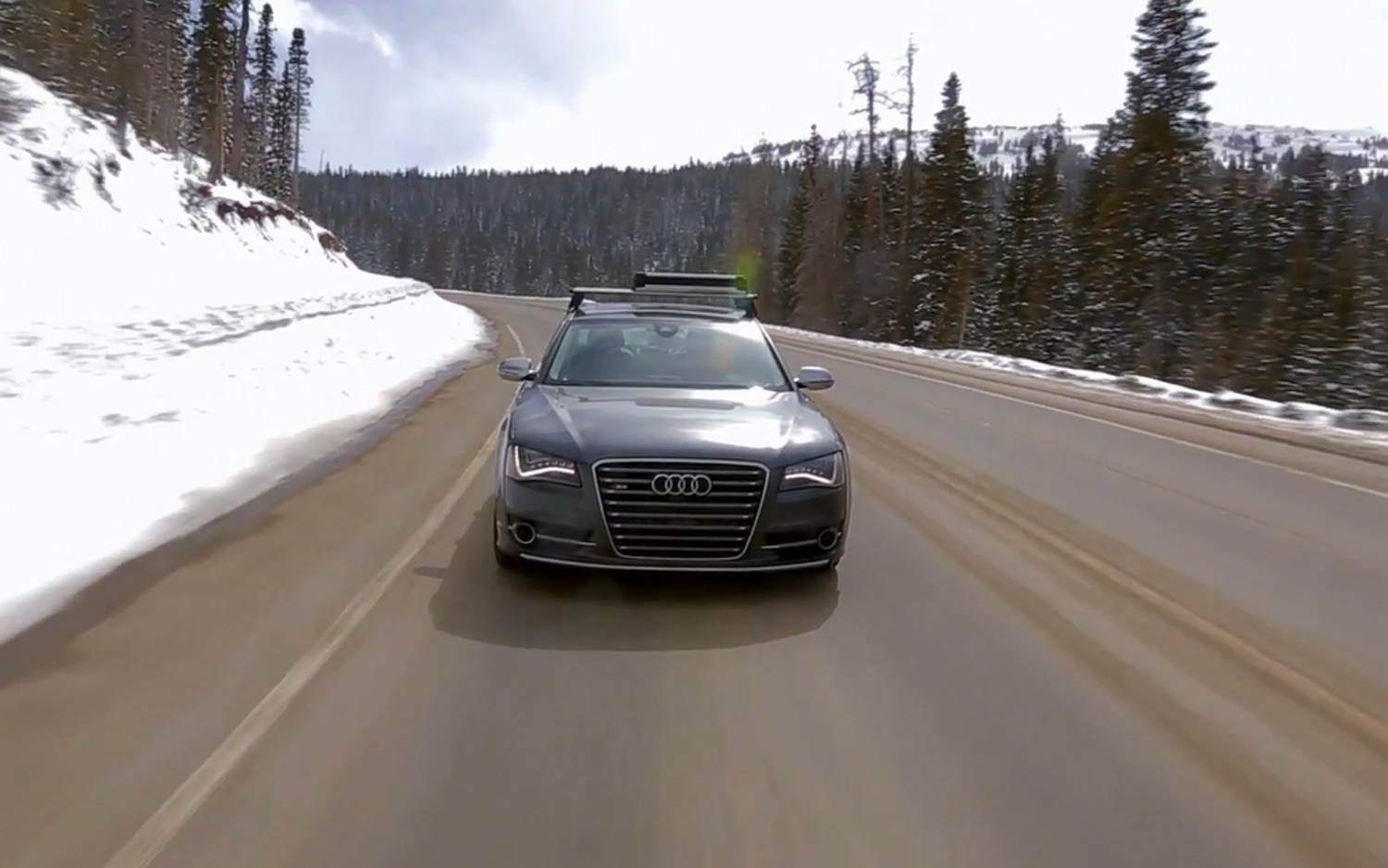 2013 Audi S8 Epic Drive In Rocky Mountains Image 21
