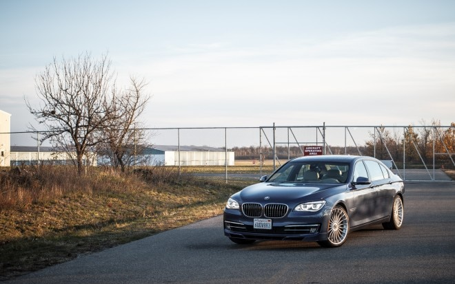 2013 BMW Alpina B7 Front Left View 21 660x413