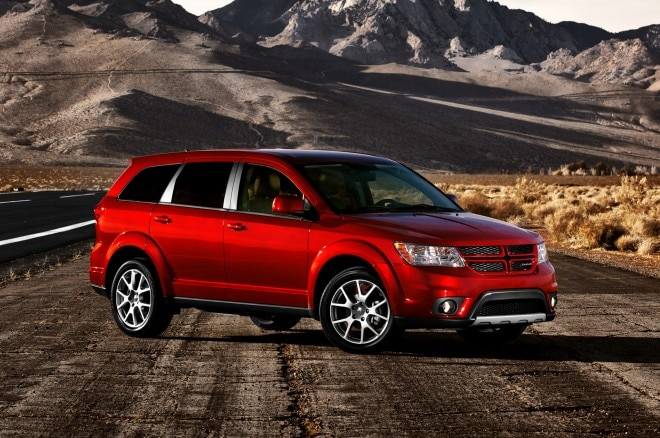2013 Dodge Journey Front Three Quarter 11 660x438