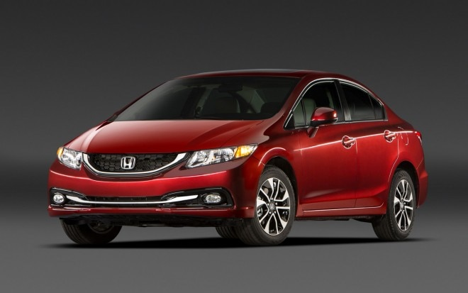 2013 Honda Civic EX L Sedan Front Three Quarter1 660x413