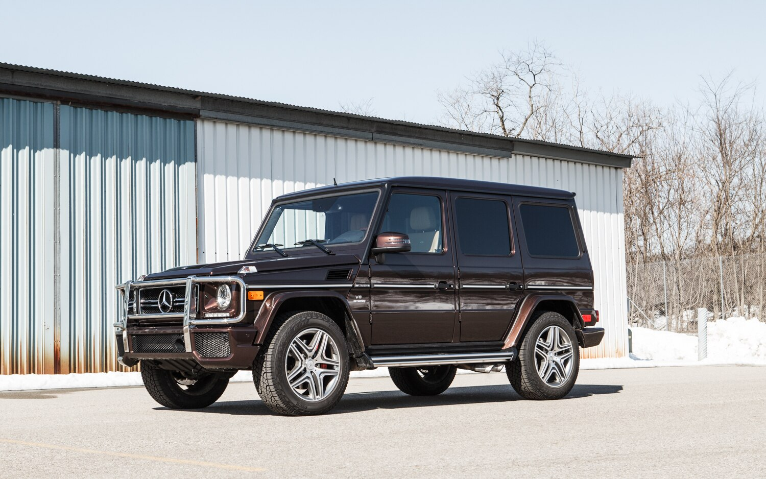 2013 Mercedes Benz G63 AMG Front Left Side View 21