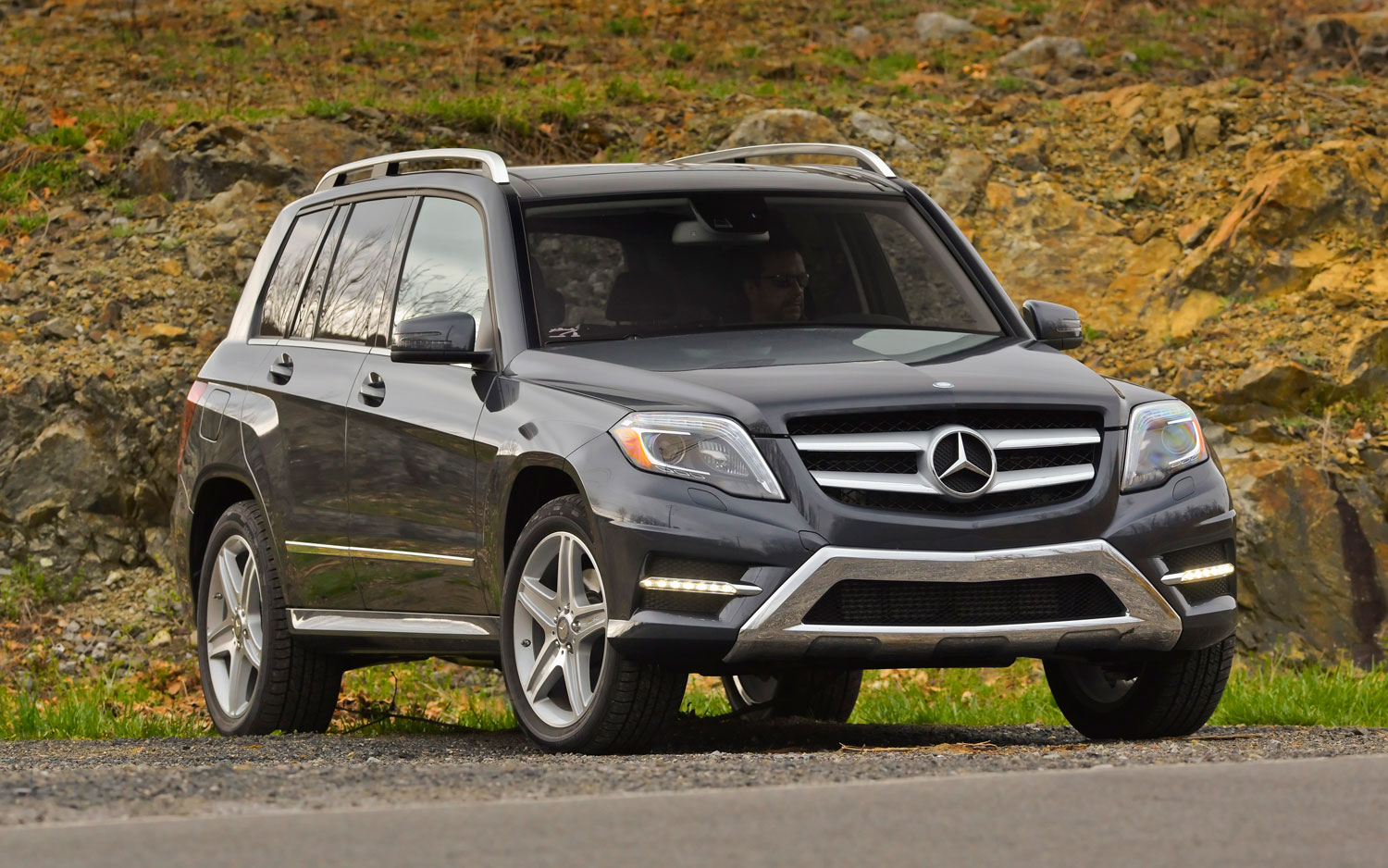2013 Mercedes Benz GLK250 BlueTec 4Matic Front Right View1