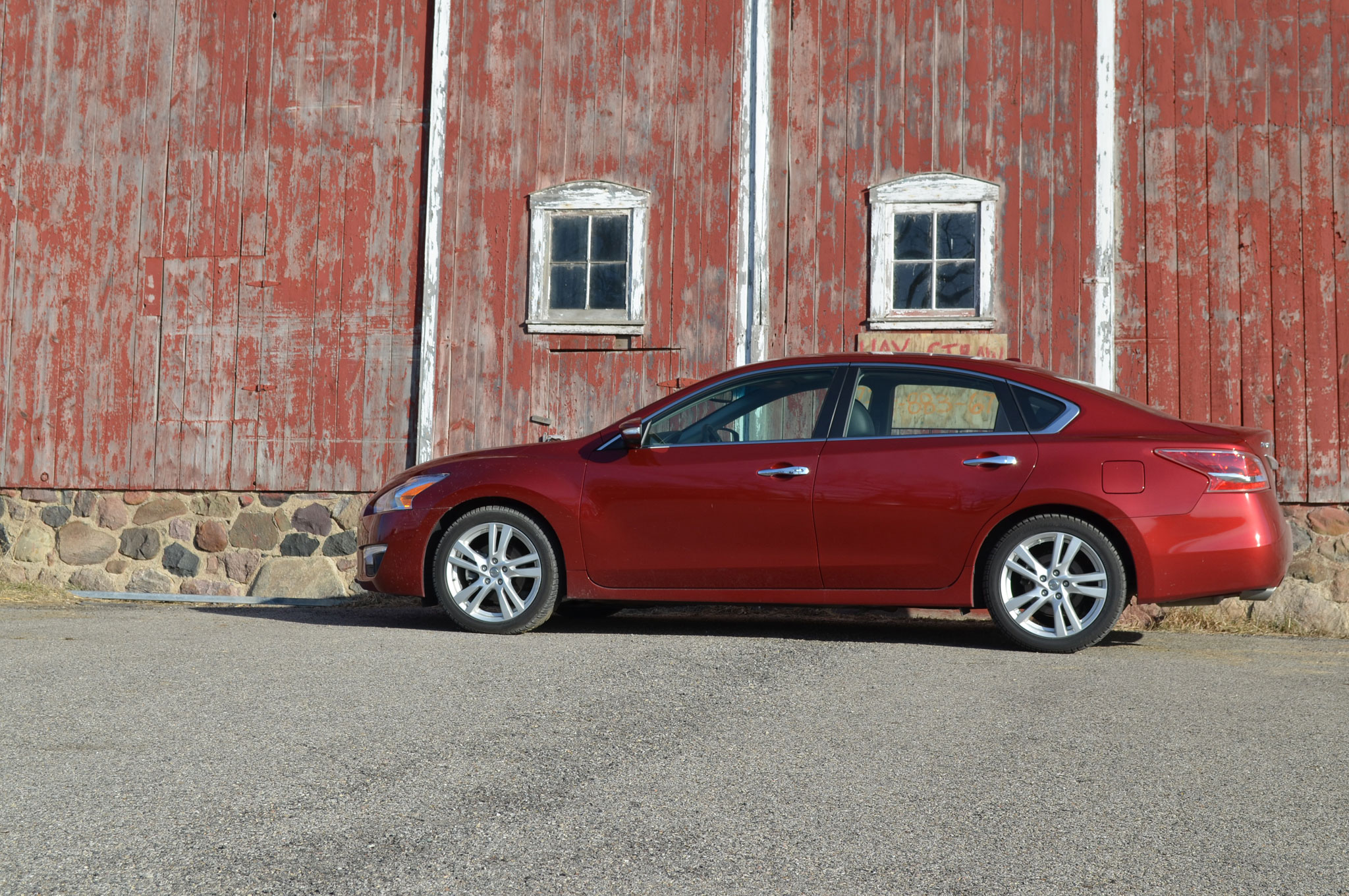 2013 Nissan Altima 3 5 SL Left Side View 21