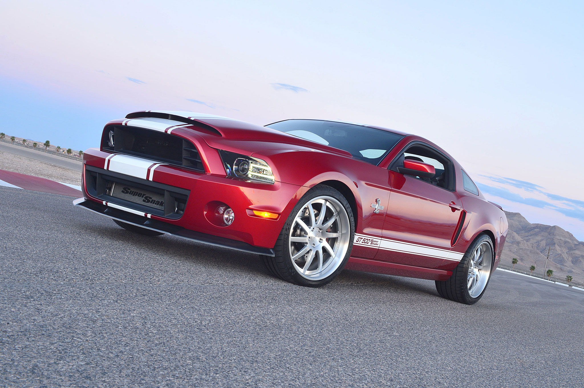 2013 Shelby GT500 Super Snake Front Left Side View 41