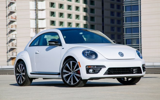 2013 Volkswagen Beetle R Line Front Three Quarter 660x413