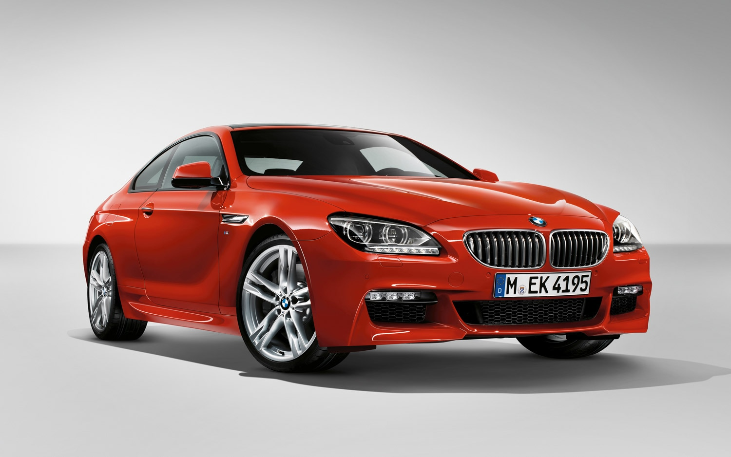 2014 BMW 650i Coupe M Sport Edition Front Three Quarter1