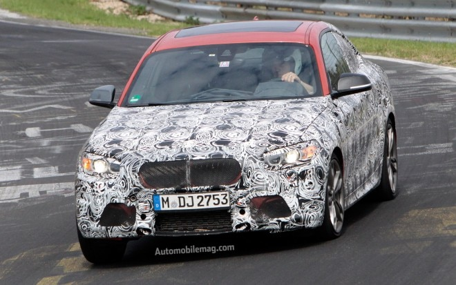 2014 BMW M235i Coupe Front View On Nurburgring1 660x413