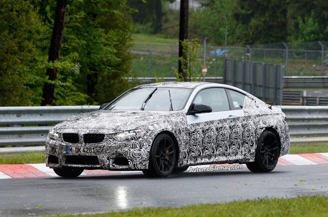 2014 BMW M4 Front Three Quarter Spied Amag1 660x438
