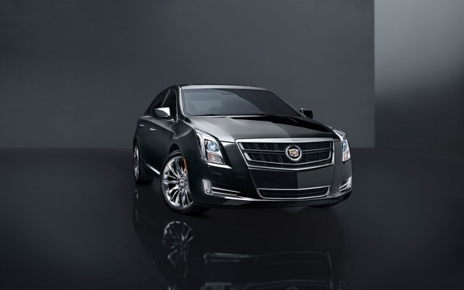 2014 Cadillac XTS Turbo Front Three Quarter1 660x413