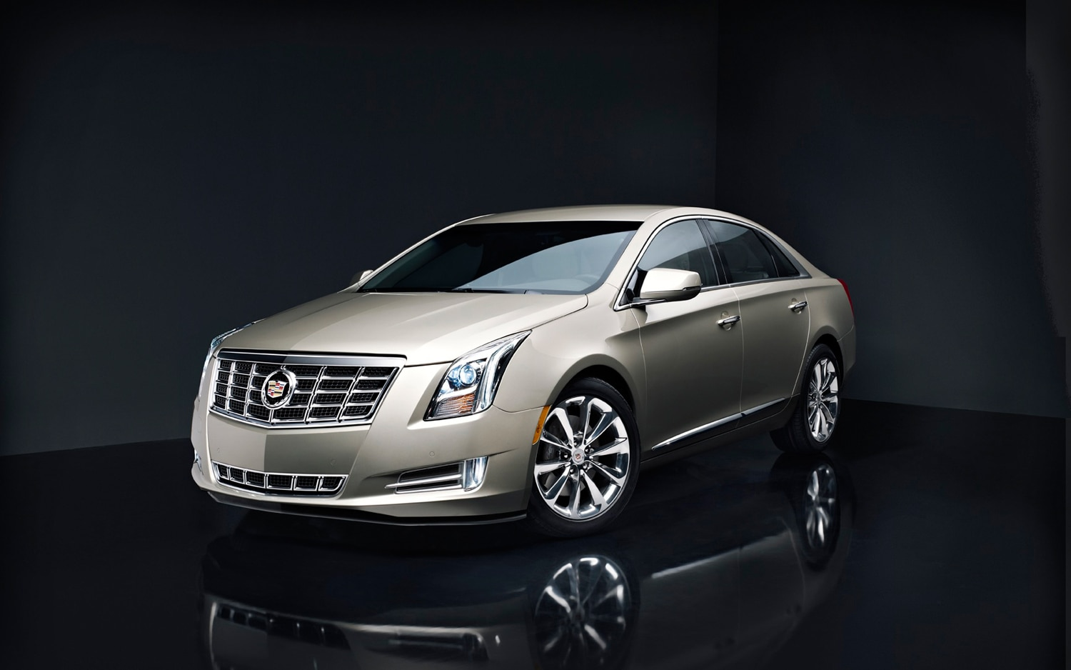 xts cadillac gold turbo hp gets equipment starts source automobilemag quarter three front