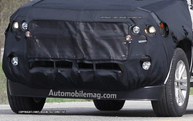 2014 Chevrolet Colorado Spied Front Clip Amag1 660x413