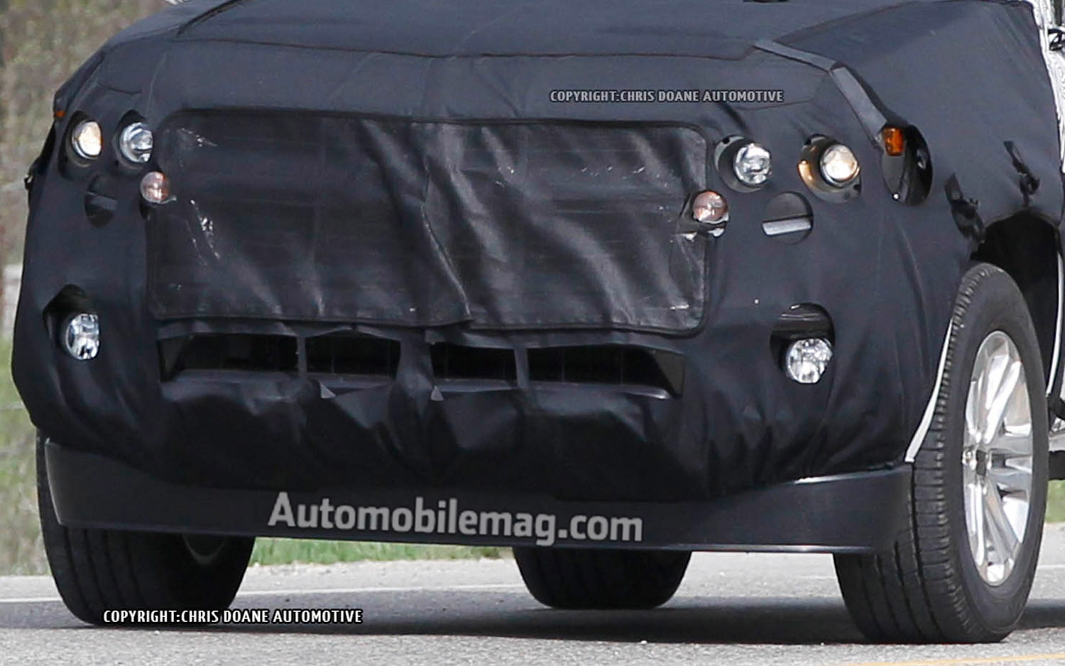2014 Chevrolet Colorado Spied Front Clip Amag1