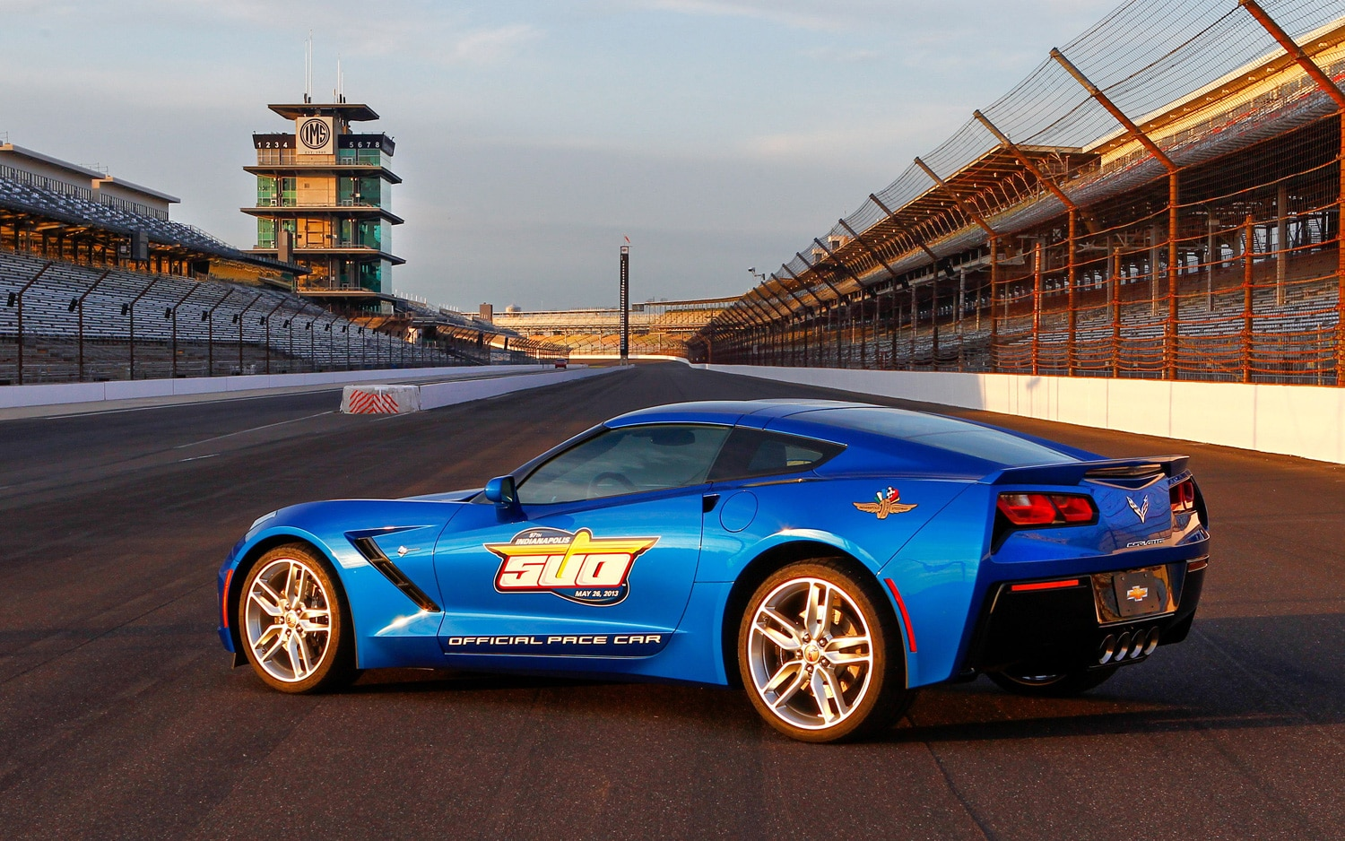 2014 Chevrolet Corvette Is 2013 Indy 500 Pace Car