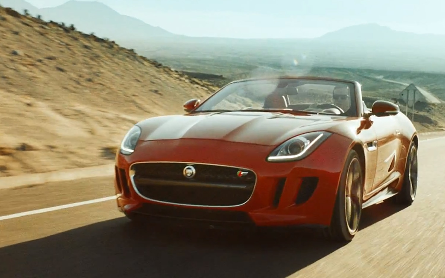 2014 Jaguar F Type V8 S Front Three Quarter On Road