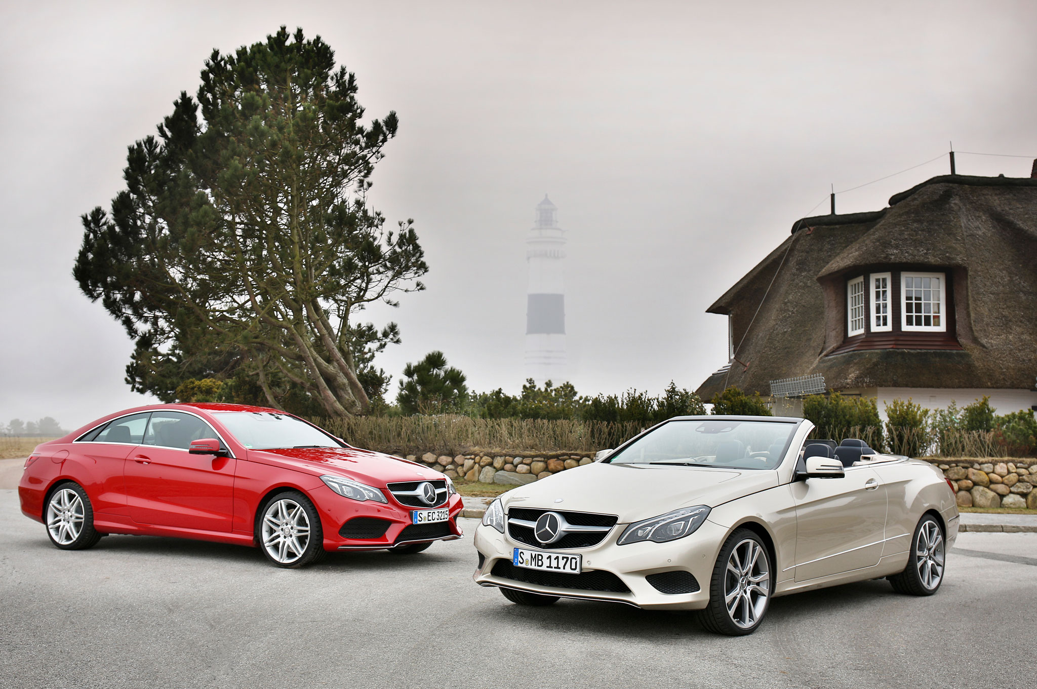 2014 Mercedes Benz E Class Coupe And Cabrio First Drive