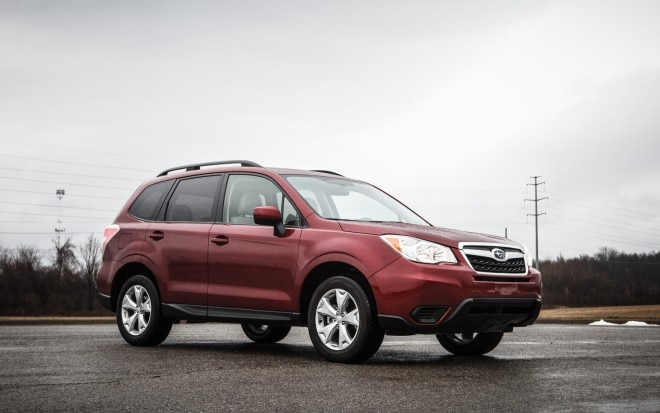 2014 Subaru Forester Manual Front Right Side View 31 660x413