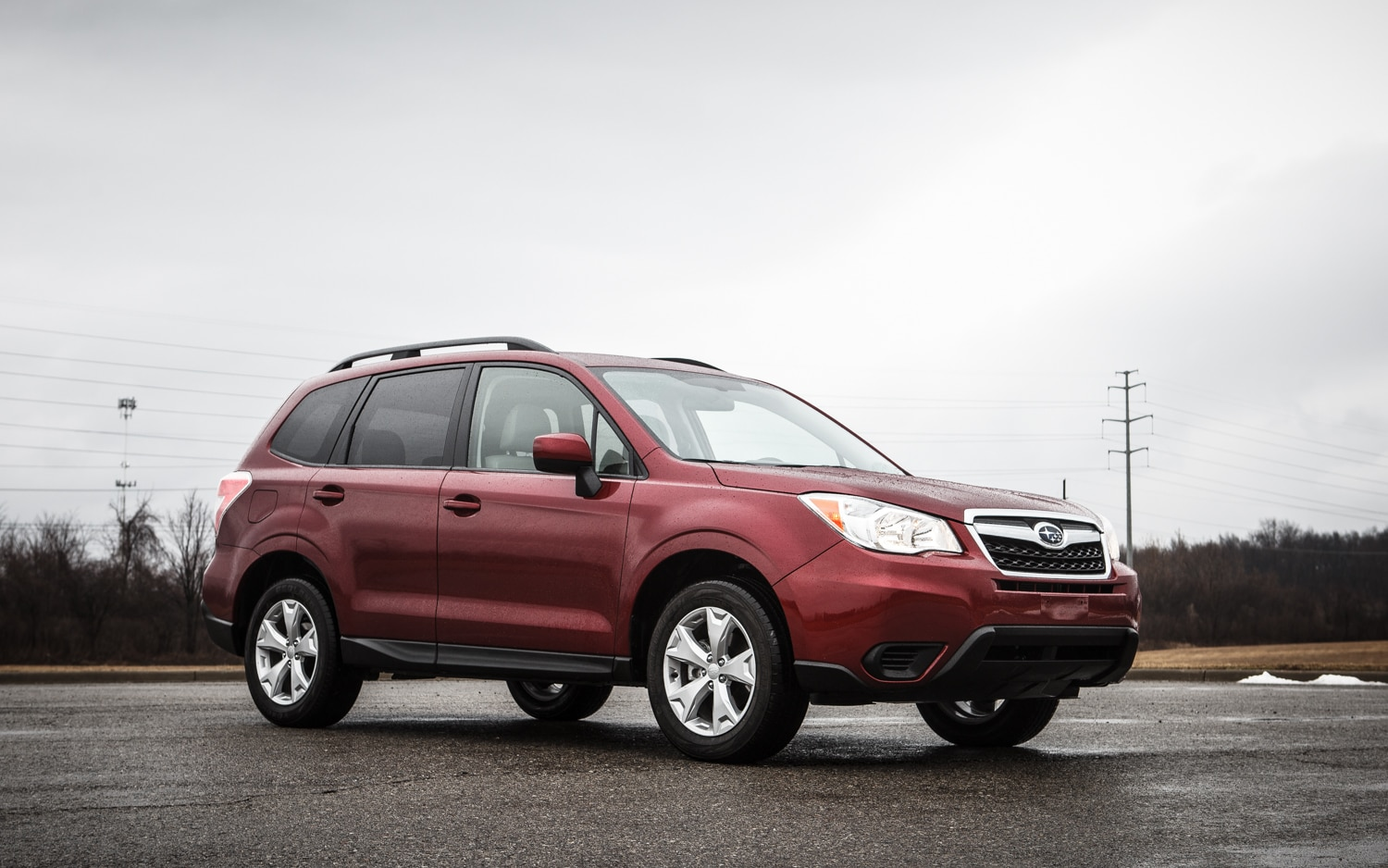 2014 Subaru Forester Manual Front Right Side View 31