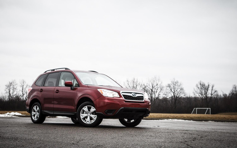 2014 subaru forester 2.5i premium - editors' notebook - automobile