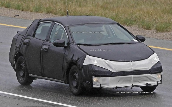 2014 Toyota Corolla Spied Front Three Quarter 41 660x413