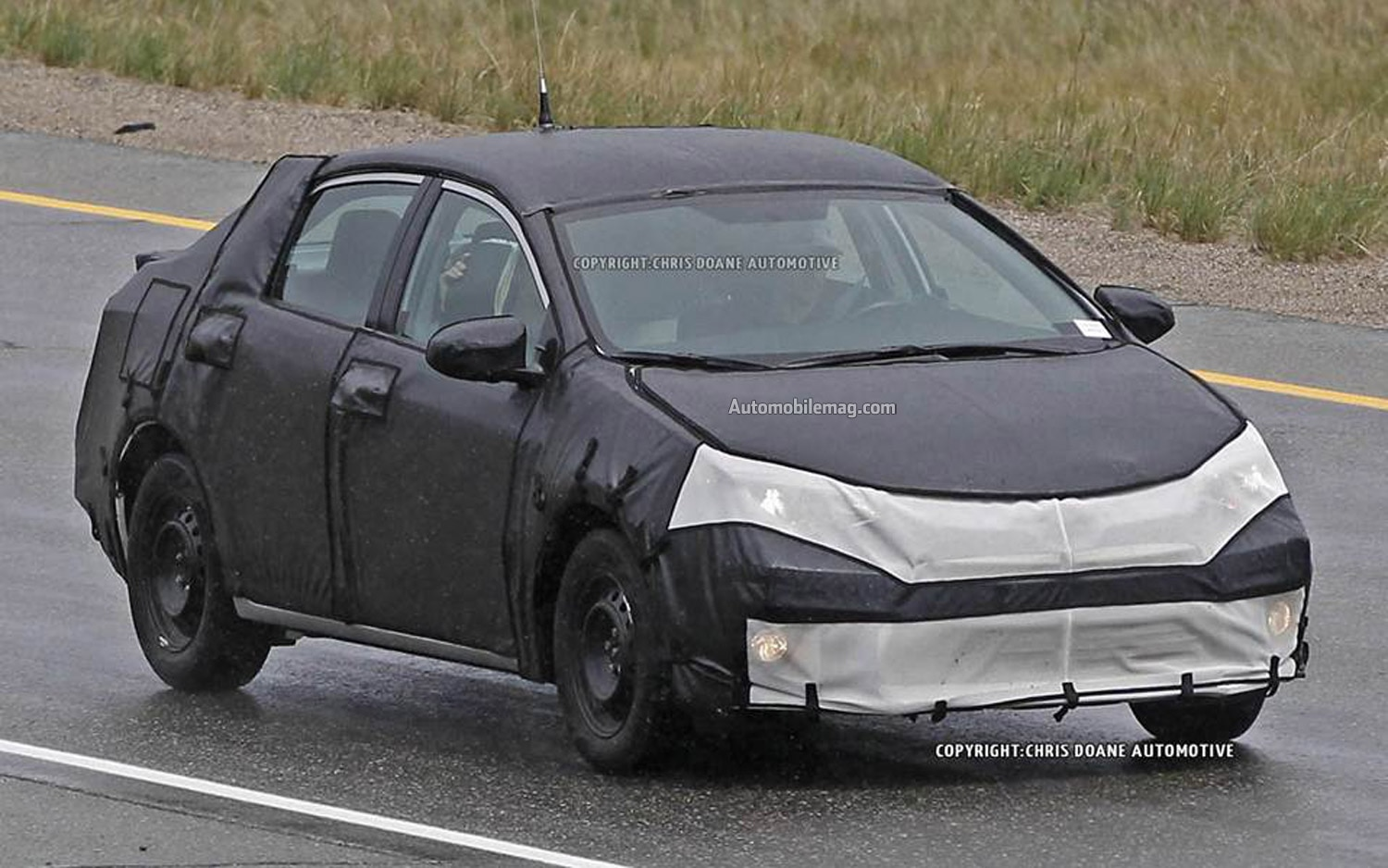 2014 Toyota Corolla Spied Front Three Quarter 41