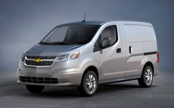 2015 Chevrolet City Express Front Three Quarter1 660x413