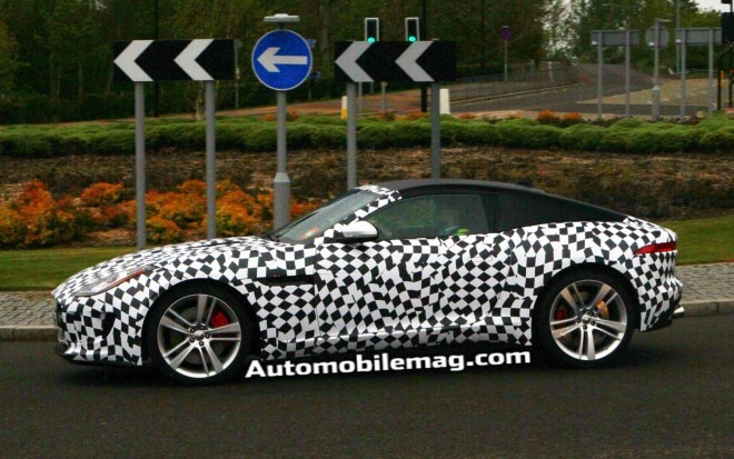 2015 Jaguar F Type Coupe Profile Spied 21 660x413