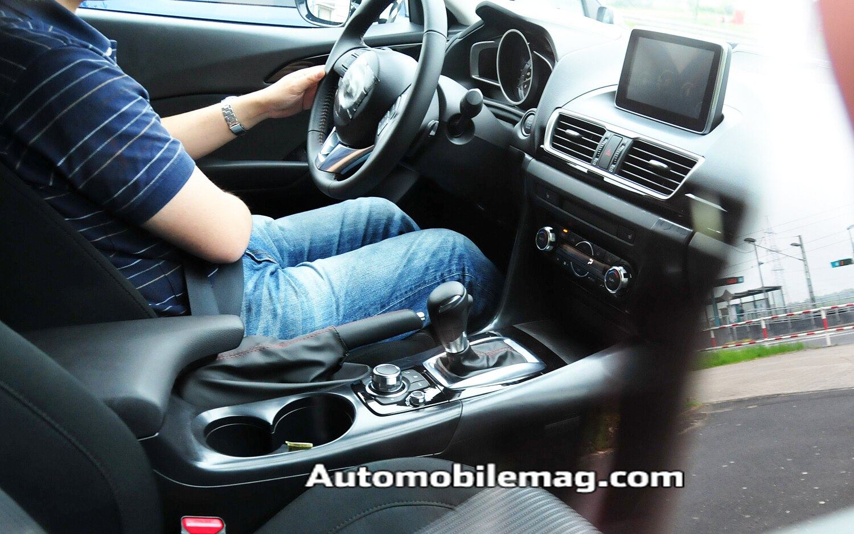 2015 Mazda 3 Interior Spied1