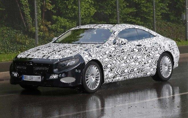 2015 Mercedes Benz S Class Coupe Prototype1 660x413