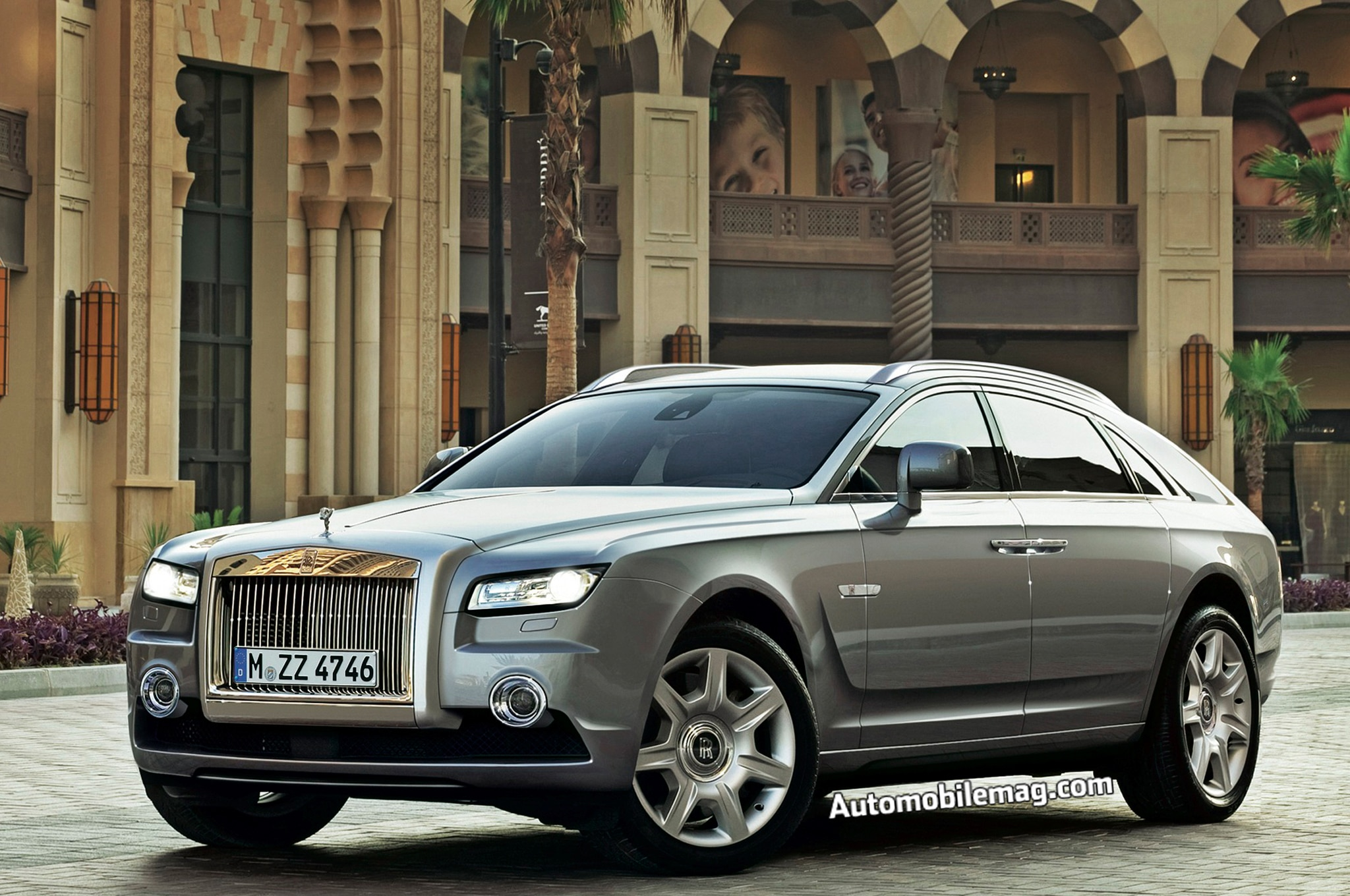 2018 Rolls Royce Pullman Front Three Quarter Rendering1